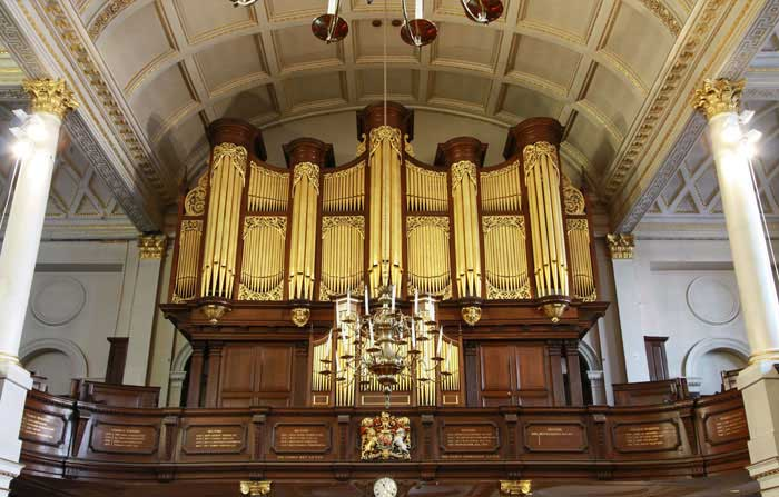 New organ at St George's