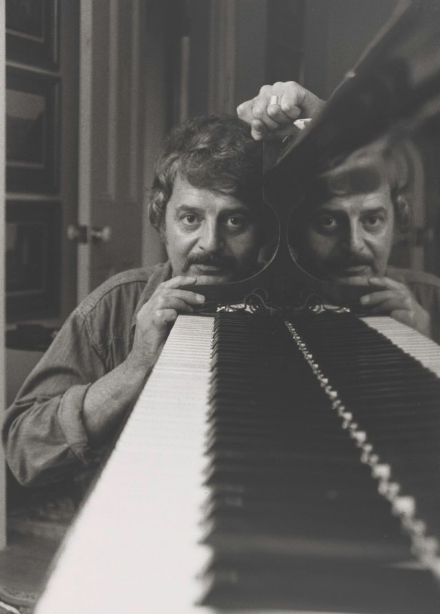 Peter Sculthorpe by Lewis Morley